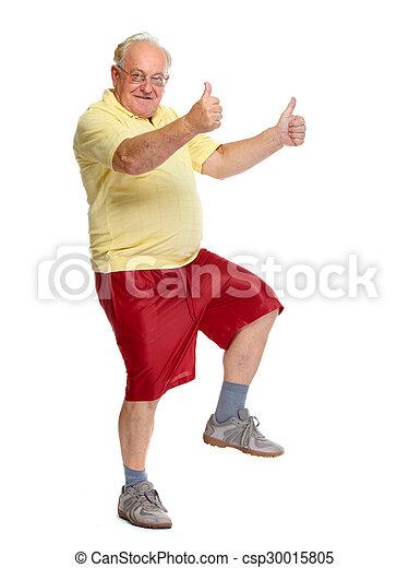 old guy dancing