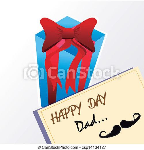 happy day dad  - csp14134127