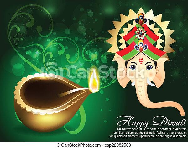 Happy diwali greeting card vector illustration happy diwali greeting card vector m4hsunfo
