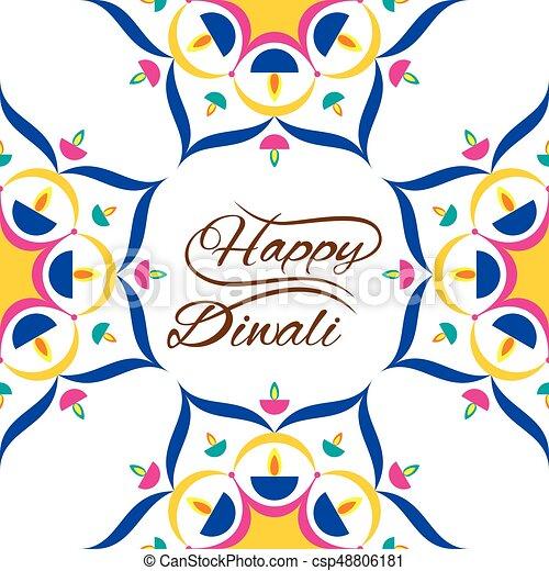 happy diwali greeting design creative beautiful diwali greeting rh canstockphoto com