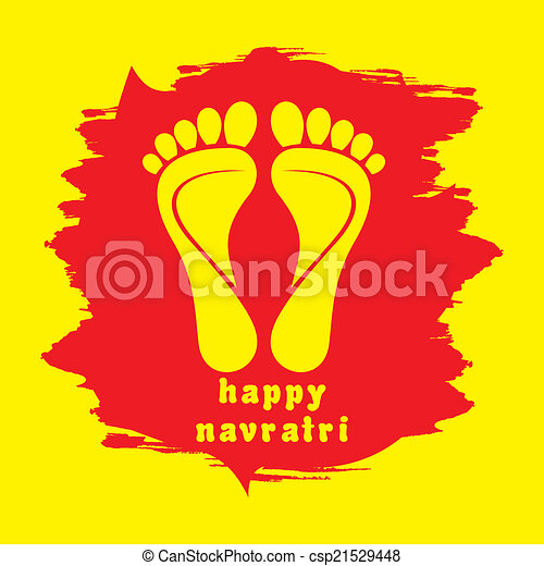 Happy diwali or navratri festival greeting card background eps happy diwali or navratri festival csp21529448 m4hsunfo