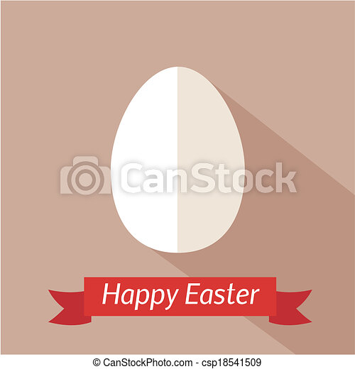 Happy Easter Card Template Vector Clipart  Search Illustration