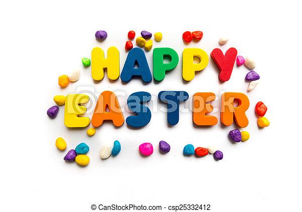 happy easter - csp25332412