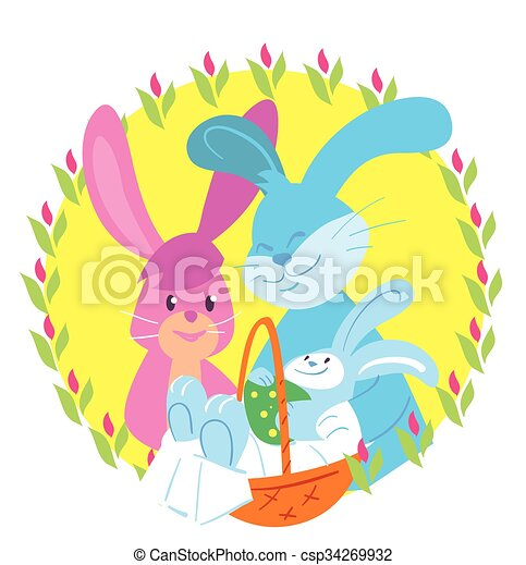 happy easter vector happy easter easter bunny vector vectors rh canstockphoto ca easter vector elements easter vector free download