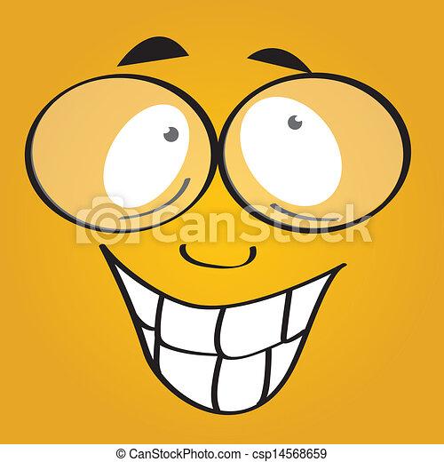 happy face - csp14568659