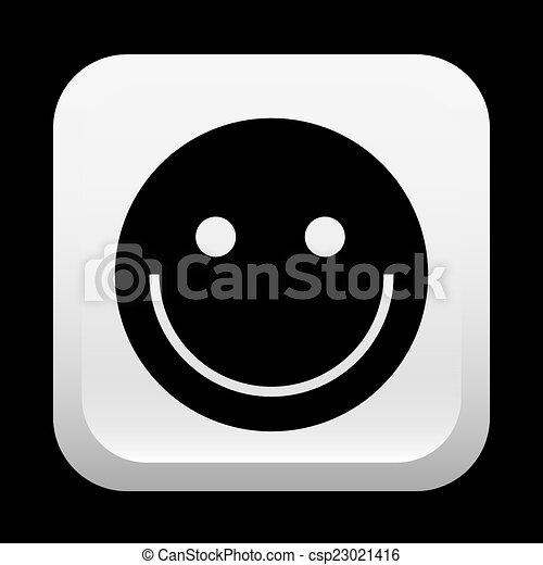 happy face design - csp23021416