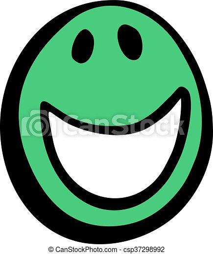 happy face - csp37298992