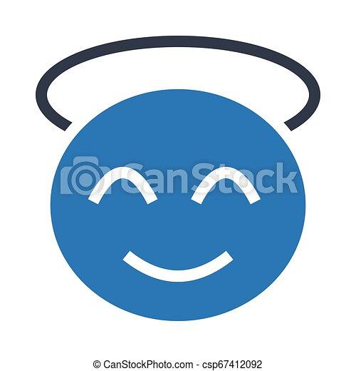 happy face - csp67412092