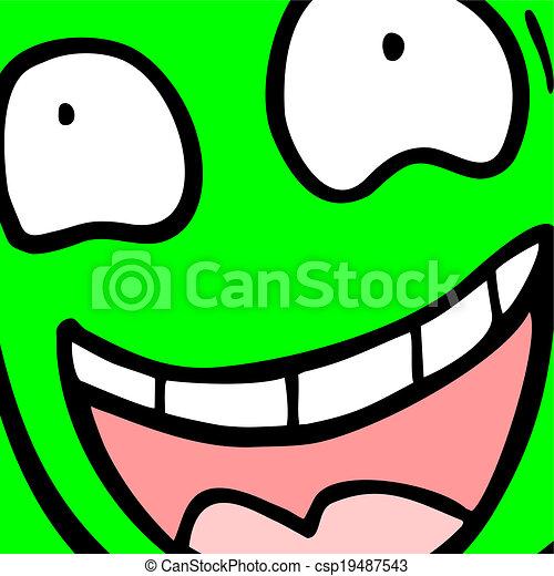 Happy face - csp19487543