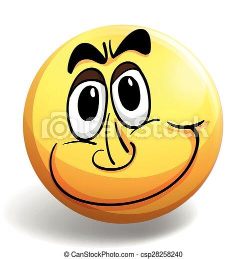 Happy face - csp28258240