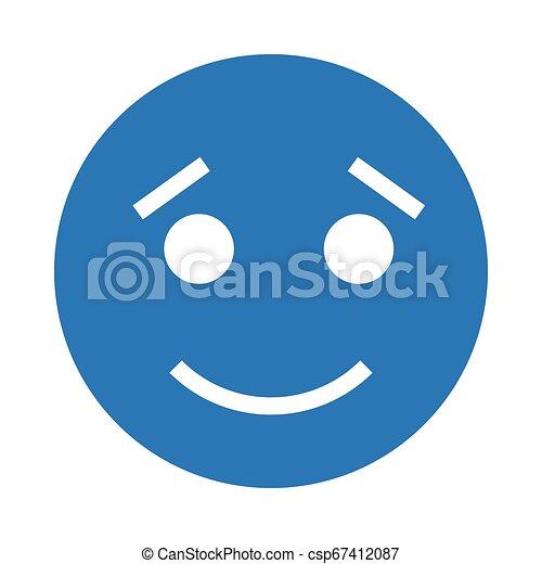 happy face - csp67412087