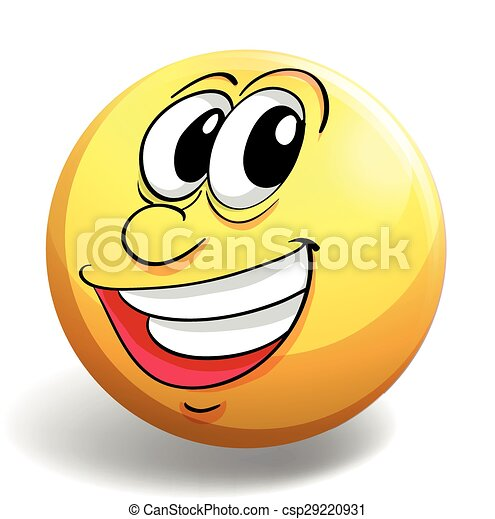 Happy face - csp29220931