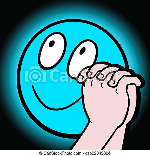 Happy face - csp22043824