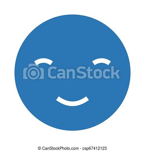 happy face - csp67412123