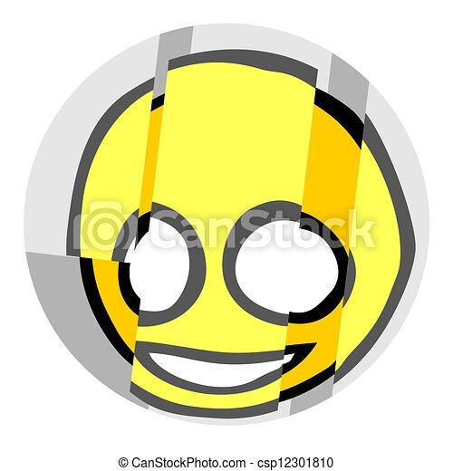 Happy face - csp12301810