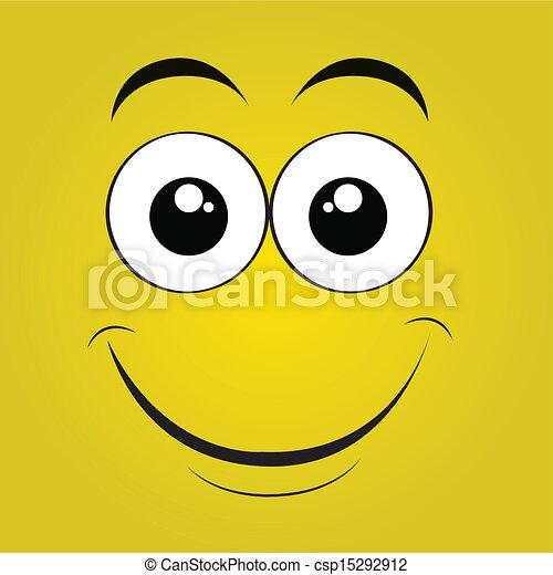 happy face - csp15292912