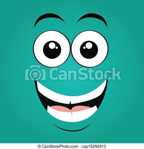 happy face - csp15292913