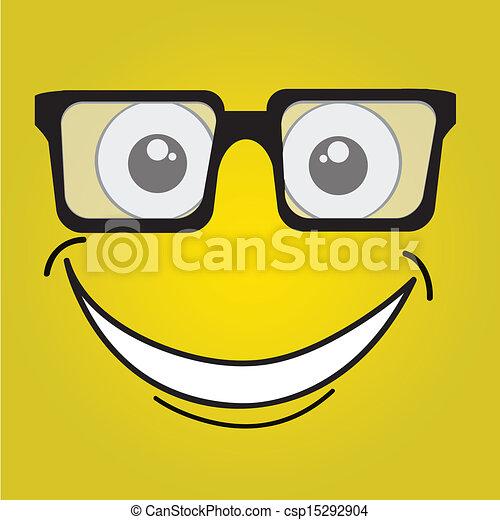 happy face - csp15292904