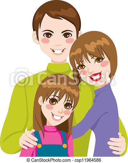 Happy Family Love - csp11964586
