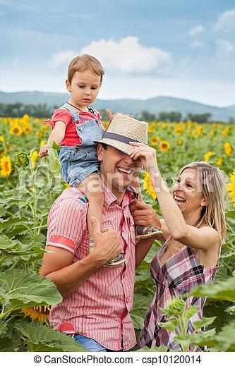 happy family - csp10120014