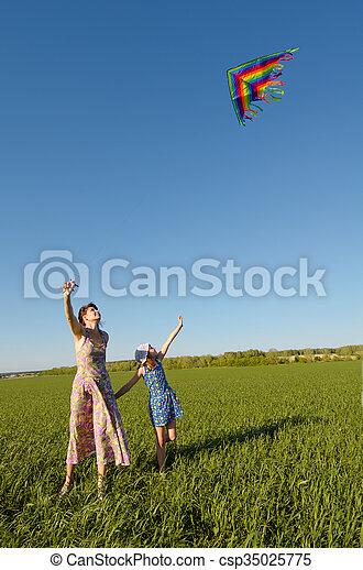 happy family - csp35025775