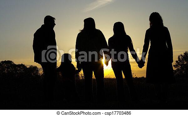 Happy family - csp17703486