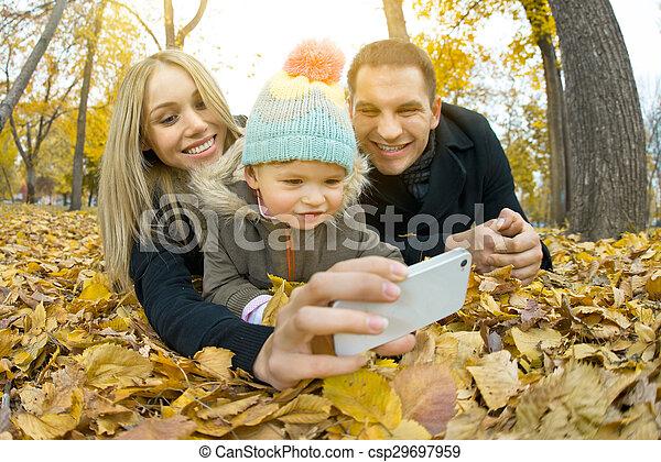 happy family - csp29697959