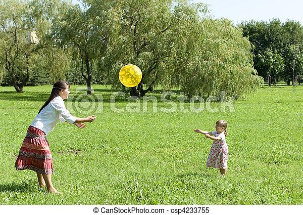 happy family - csp4233755
