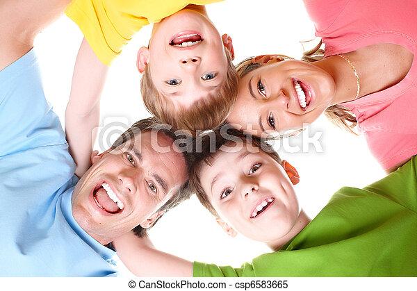 Happy family - csp6583665
