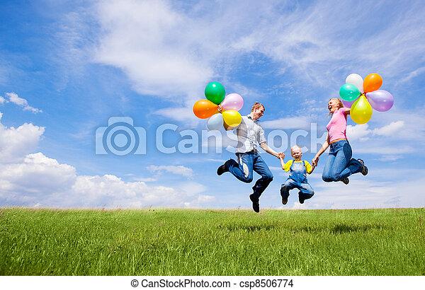 happy family - csp8506774
