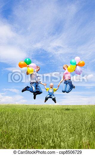 happy family - csp8506729