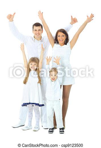 Happy family - csp9123500