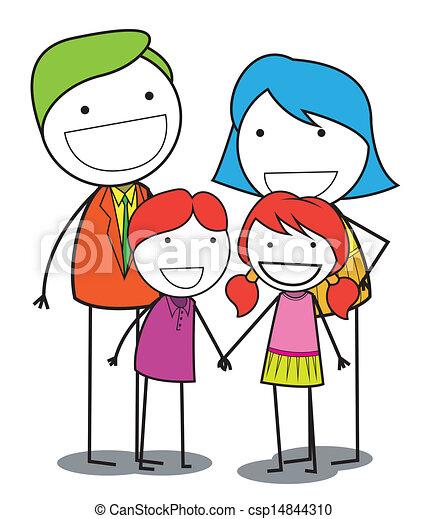 happy family - csp14844310
