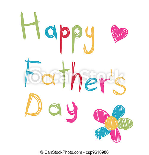 Happy Father's Day - csp9616986