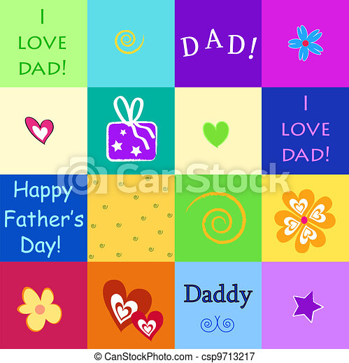 happy father's day - csp9713217