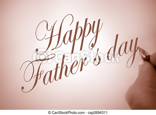 Happy Father\'s day - csp2694311