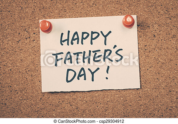 Happy father's day - csp29304912