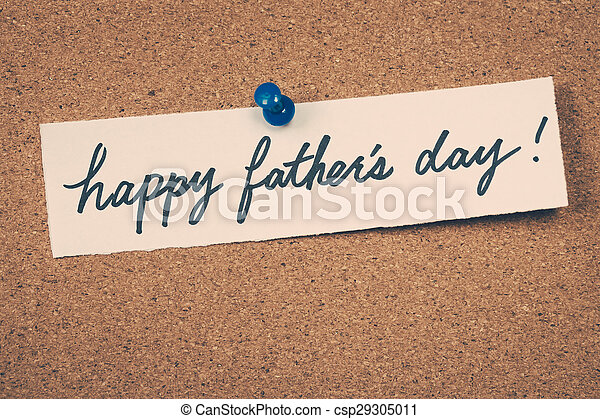 Happy father's day - csp29305011