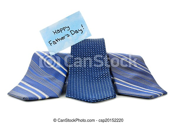 Happy Fathers Day ties - csp20152220