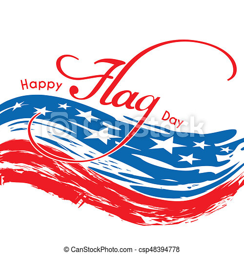 Happy Flag Day - csp48394778