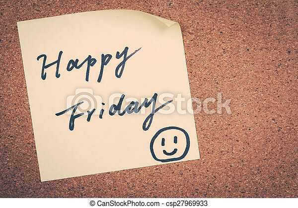happy Friday - csp27969933