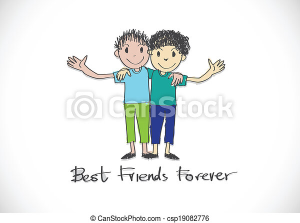 Best friends forever Clipart and Stock Illustrations  949 Best