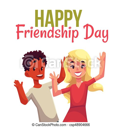 Happy Friendship Day Greeting Card   Csp48904666