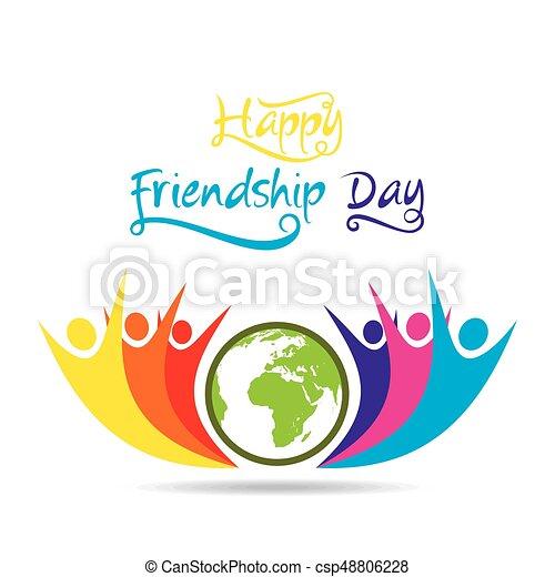 Happy Friendship Day Poster Design