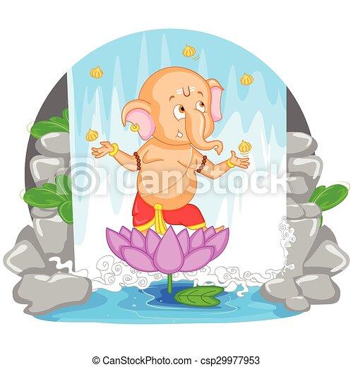 Happy Ganesh Chaturthi - csp29977953