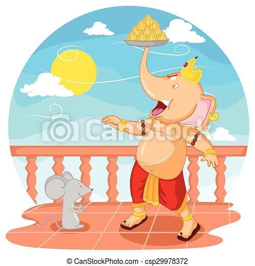Happy Ganesh Chaturthi - csp29978372