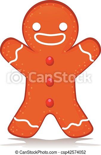 Happy Ginger Bread - csp42574052