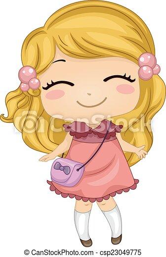 Happy Girl - csp23049775
