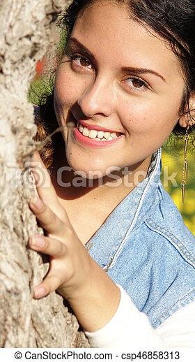 Happy Girl - csp46858313