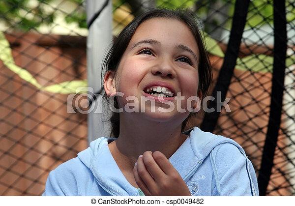 Happy girl - csp0049482